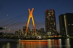 中央大橋の夜景