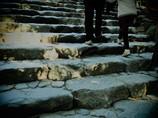 荒祭宮の石段