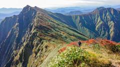 秋の谷川岳