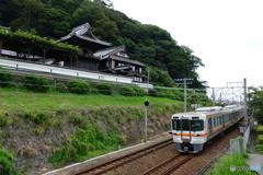 東海道本線 清見寺
