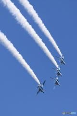 2016百里基地航空祭 24 ブルーインパルス