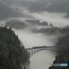 川霧の只見線