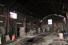 関東鉄道竜ヶ崎線 竜ヶ崎車両基地