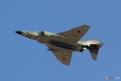 大空を舞うRF-4E