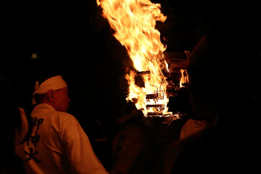 御神火祭り2017
