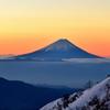 霊峰富士 ー黎明皆既ー