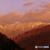 恋は繰り返す・・・。だから、今日も山の夕景です ❤