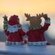 毎年、クリスマスの夜中に働くサンタさんとトナカイさん ♪