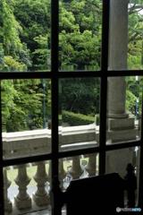 萬翠荘 2Fからの眺め