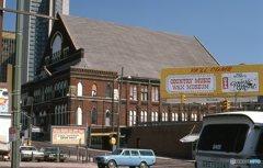 ライマン公会堂 遠景 ナッシュビル テネシー
