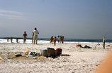 州立公園の海水浴場 NY