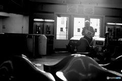 バス待合室 シンシナティ オハイオ