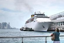 波止場の船 #2 香港