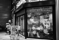 商店街のカフェ