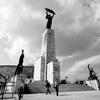 ゲッレールト山の自由の像 ブダペスト