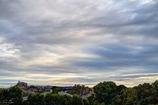 ブルーグレーの雲