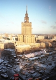 文化科学宮殿 ワルシャワ