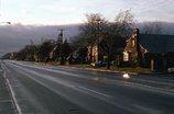 黄昏時の車道 ロングアイランド NY