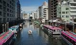 浅草橋からの神田川