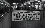 34丁目の地下鉄ホーム NY
