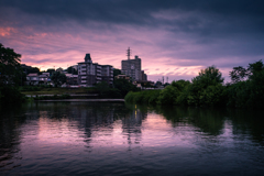 日没の乙川