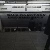 """""""ウォーク ドゥーナット ラン""""  NY 地下鉄"""