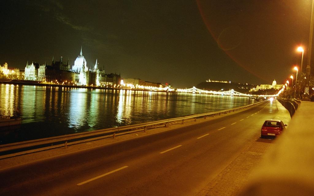 ブダベストの夜景