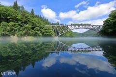 川霧対称で描く鏡像