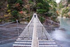 寸又峡夢の吊り橋