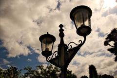 異人館の街灯