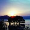 琵琶湖のサンセット