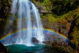 銚子ヶ滝の虹