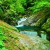 三重の滝(山梨県山梨市)