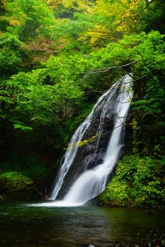 峨瓏の滝(秋田県藤里町)