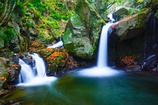 おぼろ滝(滝川渓谷)