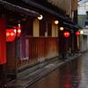 雨の京都散歩<花見小路>