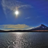 新年の富士(河口湖)