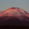 山中湖Ⅱー赤富士