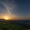 大観峰からの日の出
