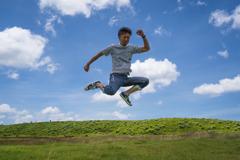 大空へジャンプ!!