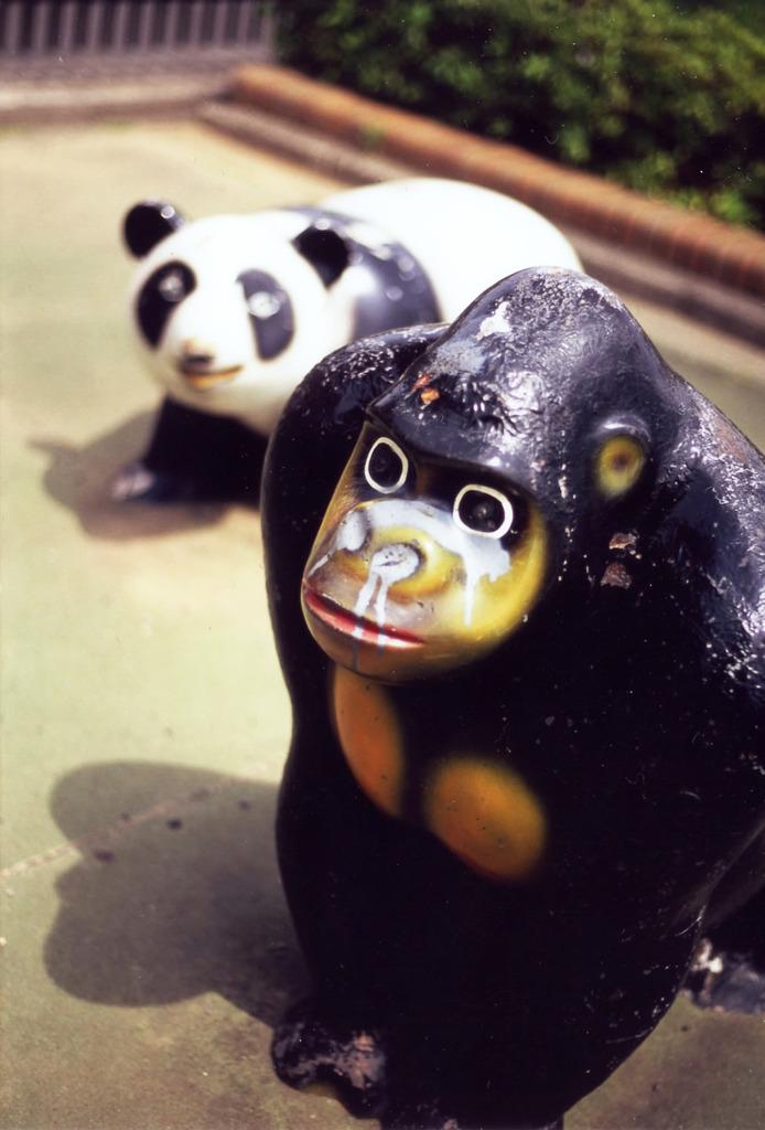 性格の悪いパンダ