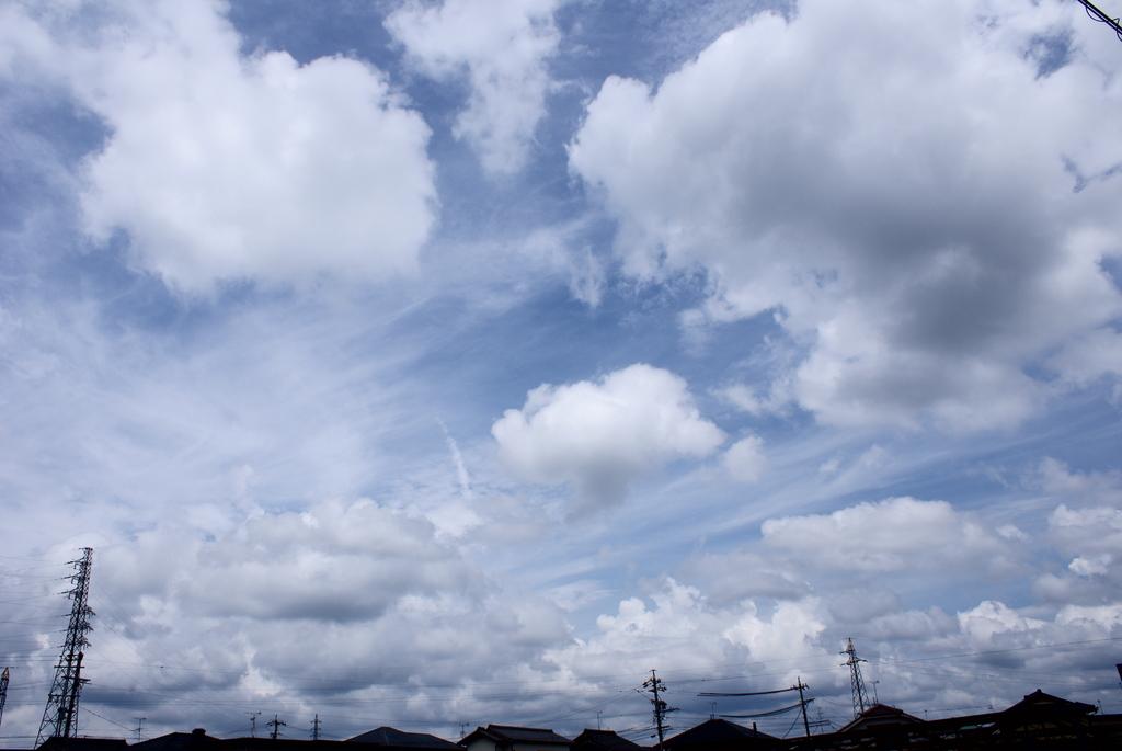 梅雨の合間の青空