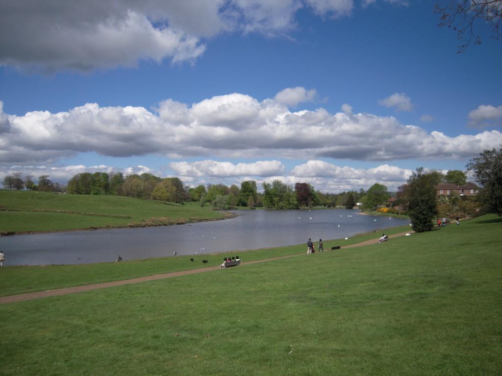 イギリス、リーズ城の庭