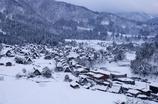 冬の白川郷集落