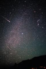 2001年 しし座流星群