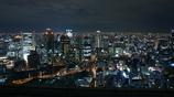 空中庭園の夜景