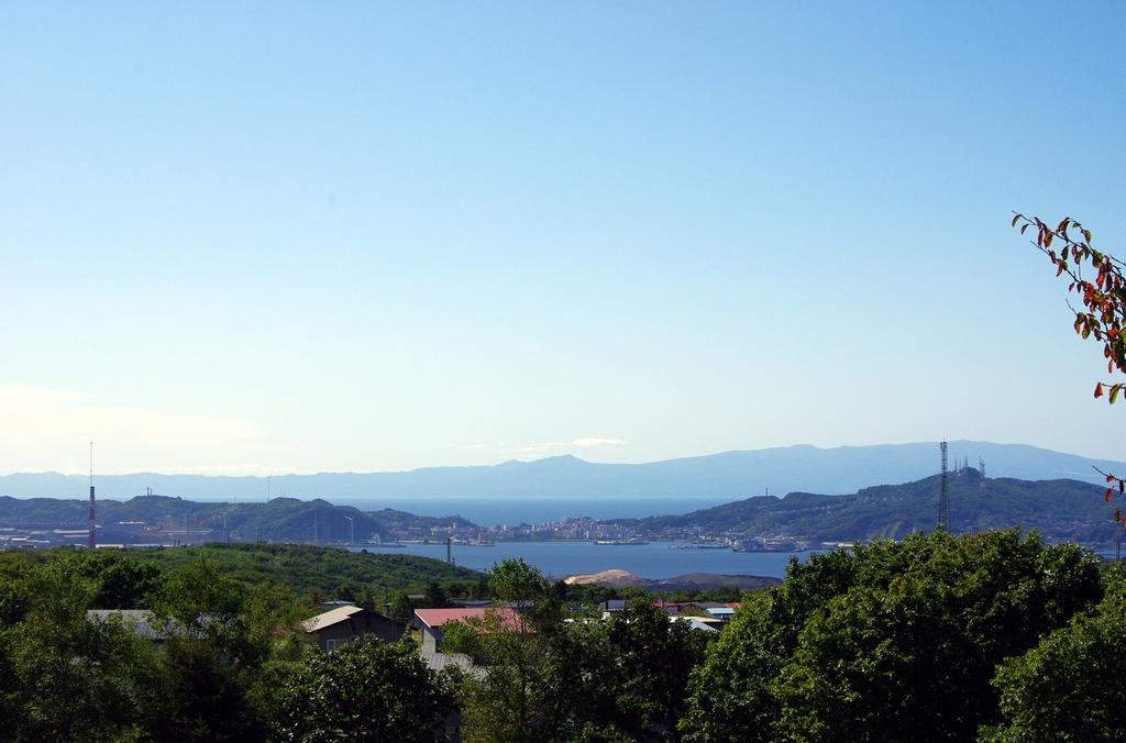 室蘭港と内浦湾