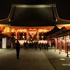 浅草の夜 散策 本堂