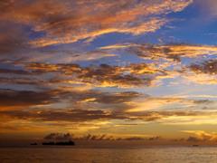 -Sunset in Saipan-