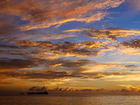 -Sunset in Saipan-